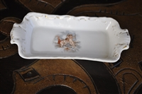 Victoria Carlsbad antique small Cupid plate