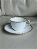 Cauldon Ware porcelain teacup and saucer