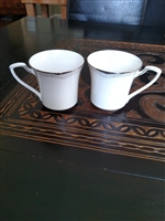Noritake Sterling Cove set of two teacups
