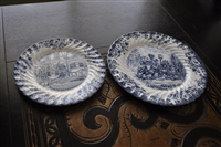 Johnson Brothers Coach Scenes plates England
