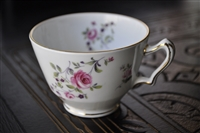 Staffordshire porcelain Rose cup from England
