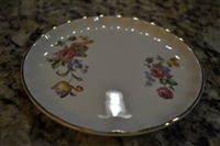 W S George porcelain Bolero bread and butter plate