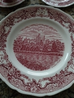 Royal Swan Historic Castles dinner plate