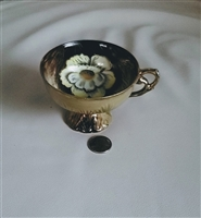 Ornate footed teacup from Princess Japan