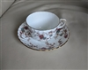 Ancestral by Minton porcelain teacup and saucer
