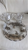 Silver City Co Blossom and Forest table setting