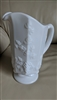 Paneled Grape milk glass pitcher Westmoreland