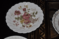 Saucer in Chelsea Rose-Multicolor by Royal Staffordshire.