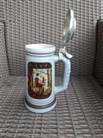 Beer Stein Avon Birth America Blacksmith hammer