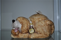 Treasure Craft Cookie jar dog