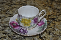 Royal Alber teacup and saucer