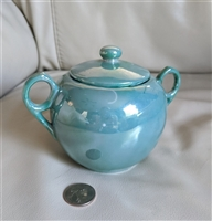 Lusterware sugar bowl Japan