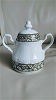 J G Meakin English sugar bowl Sterling ironstone