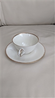 Heinrich H&C Bavaria Selb cream porcelain teacup