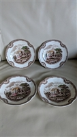 OLD BRITAIN CASTLES by Johnson Brothers saucers