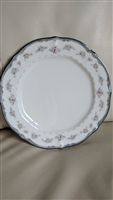 Noritake Traviata bread and butter porcelain plate