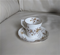 Assam Stoke on Trent Ridgway tea cup with saucer