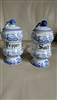 Blue and white huge shakers Blue Onion Japan
