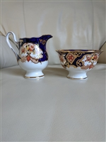 Derby by Royal Albert creamer and open sugar set