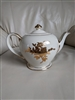 Earthenware Sadler England gilded teapot
