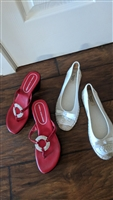 Vera Wang and Athena Alexander shoes both sz 8