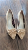 ANNE KLEIN slip on leather shoes sz 8