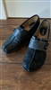 SOFTSPOT shimmering black clogs sz 11 M