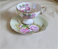 Lefton and Japanese porcelain teacup and saucer