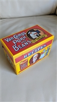 Van Camps Pork and Beans lidded Recipes tin box
