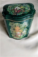 Vintage 1981 Avon Christmas lidded tin
