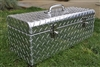 Diamond plate large toolbox
