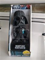 Star Wars Galaxy Best Father bobble head display