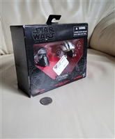 Star Wars Black Series Kylo and Poe diecast helmet