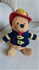 Pooh Firemen World Disney Bean 8 inch