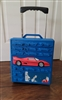 Hot Wheels 1997 car storage rolling suitcase rare