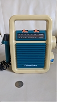 Fisher Price 1984 Radio Karaoke sing along toy