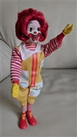 Ronald McDonald plastic toy 1976 articulated Remco