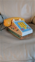 Fisher Price 1968 Pop Up Pall chime phone