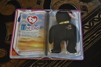 McDonald beanie The End Bear in box 1999