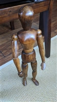 Wooden 16 inch articulated manikin display