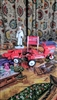 Murray tractor diecast and Coca Cola ornaments