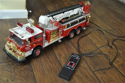 Campbell Soup huge remote controlled fire truck