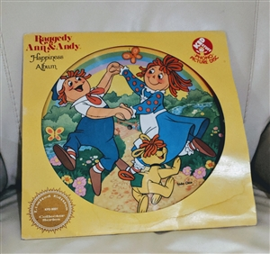 Raggedy Ann and Andy Happiness Album 1981 limited