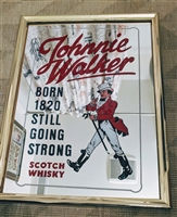 Johnnie Walker Advertising mirror