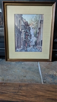 OL Coleman LA Cathedral framed print wall decor