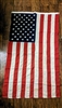 American Flag 50 stars cotton vintage