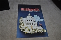 United Air Lines Washington DC poster 1973