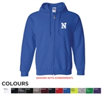 18600 Gildan Heavy Blend Full Zip Hooded Sweatshirt