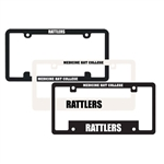 Polycarbonate License Plate Frames