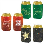 Holiday Can Koozie